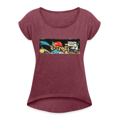 R Gang - Women's Roll Cuff T-Shirt