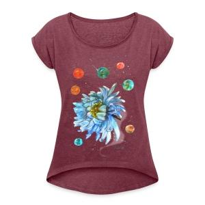 Best Time - Women's Roll Cuff T-Shirt