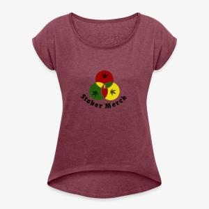 Rasta Stober Merch - Women's Roll Cuff T-Shirt