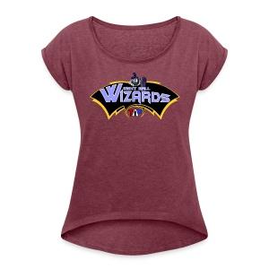 8 Ball Wizards - Women's Roll Cuff T-Shirt