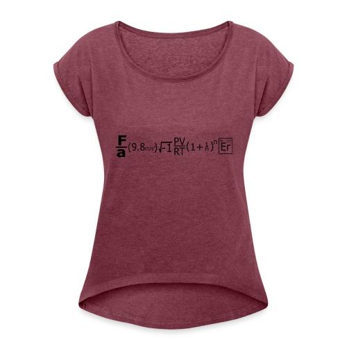 Mgineer - Women's Roll Cuff T-Shirt