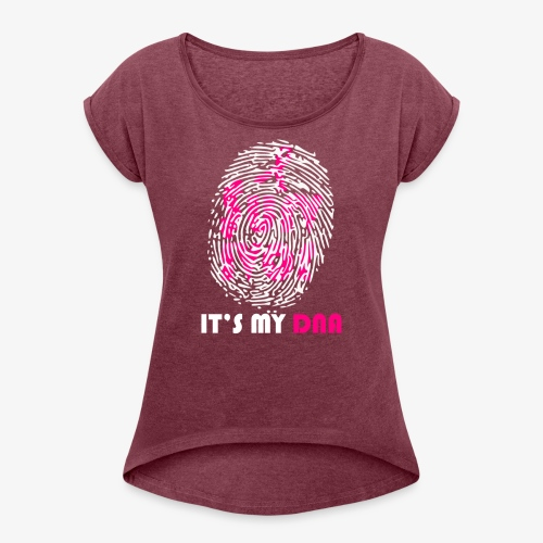 SurvivorDNA - Women's Roll Cuff T-Shirt