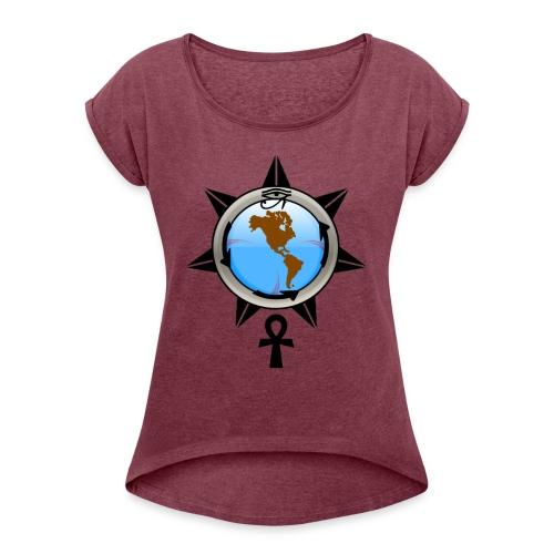 Legend - Women's Roll Cuff T-Shirt