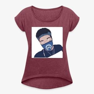 quasnoso merch - Women's Roll Cuff T-Shirt
