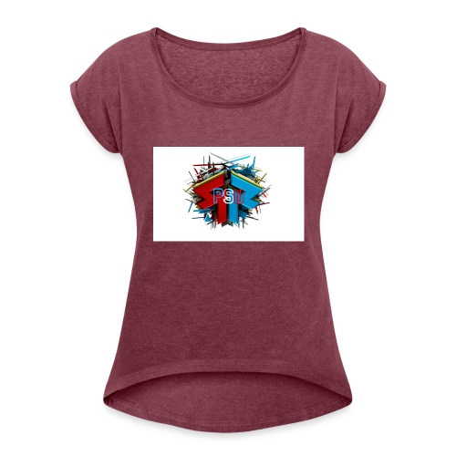 PSU Clan - Women's Roll Cuff T-Shirt