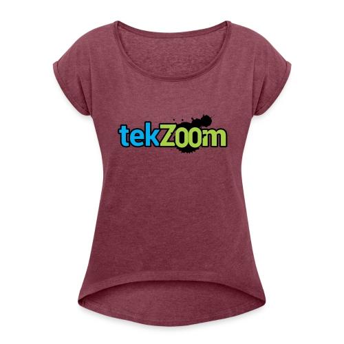 Logo Full - Women's Roll Cuff T-Shirt