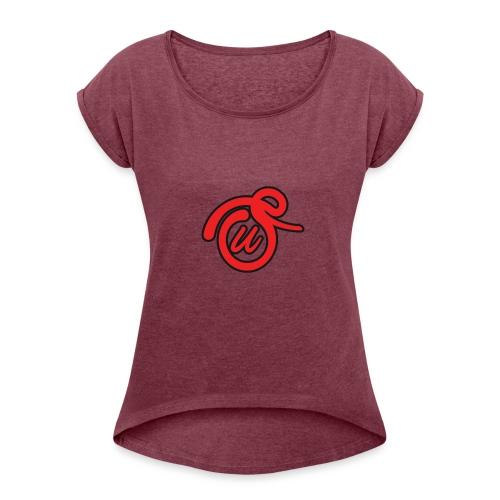 STACKIN UP APPAREL - Women's Roll Cuff T-Shirt
