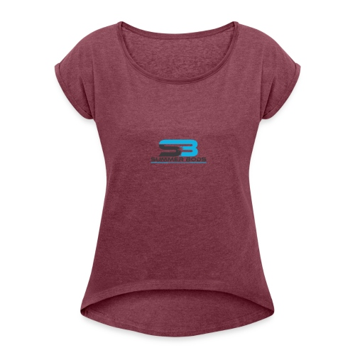 Summer Bods Apparel - First Edition - Women's Roll Cuff T-Shirt