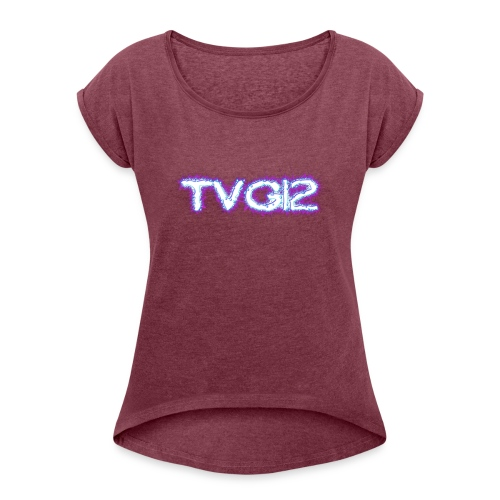 TVG12 - Women's Roll Cuff T-Shirt