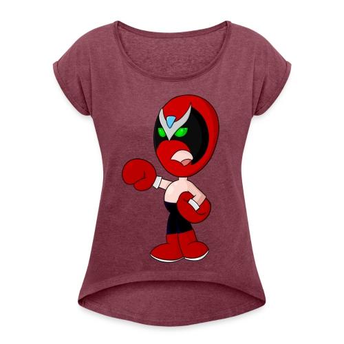 An OK Guy - Women's Roll Cuff T-Shirt
