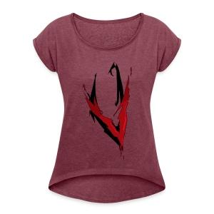 Viidith22 - Women's Roll Cuff T-Shirt