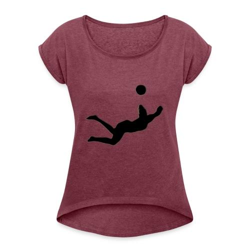 160808141154 10 rio olympics 0808 super 169 - Women's Roll Cuff T-Shirt