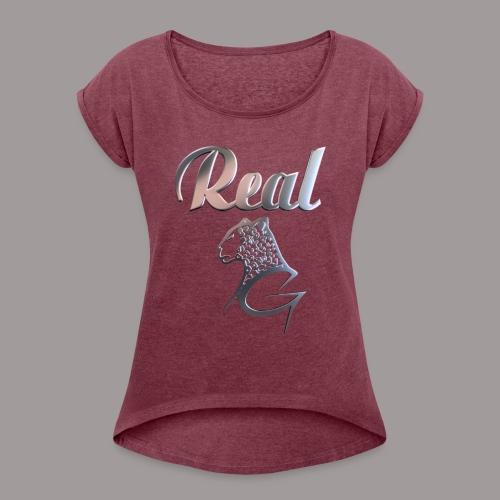 Real - Women's Roll Cuff T-Shirt