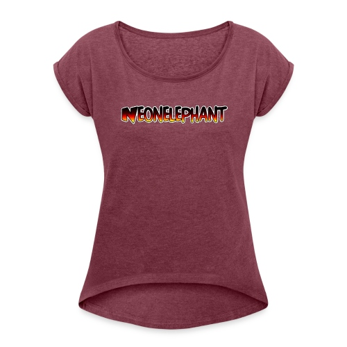 NEONELEPHANT - Women's Roll Cuff T-Shirt
