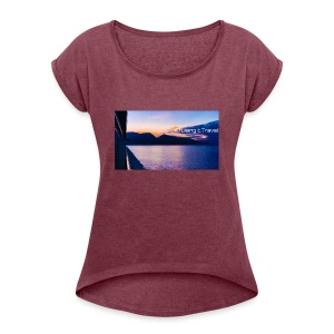 Maui Cruising It Travel - Women's Roll Cuff T-Shirt
