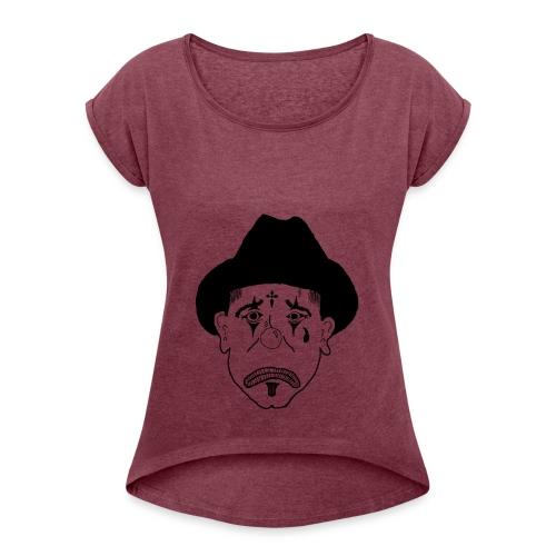 Clowns - Women's Roll Cuff T-Shirt