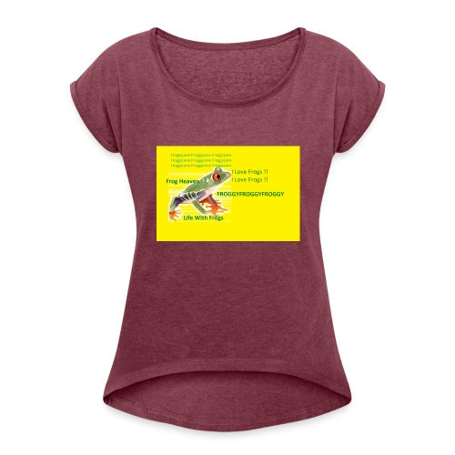 yellowshirt - Women's Roll Cuff T-Shirt