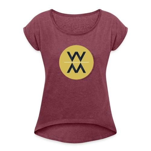 Womens Movement Collaborative 2018 Fall Line - Women's Roll Cuff T-Shirt