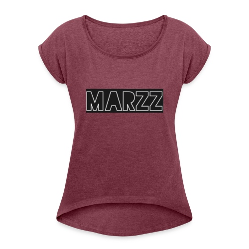 Yvng Marzz Merch - Women's Roll Cuff T-Shirt