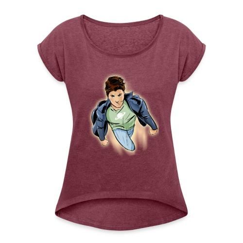 amir tshirt - Women's Roll Cuff T-Shirt