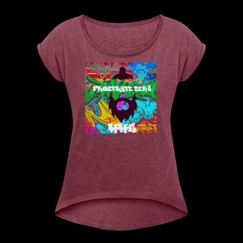 HHS Graffiti - Women's Roll Cuff T-Shirt