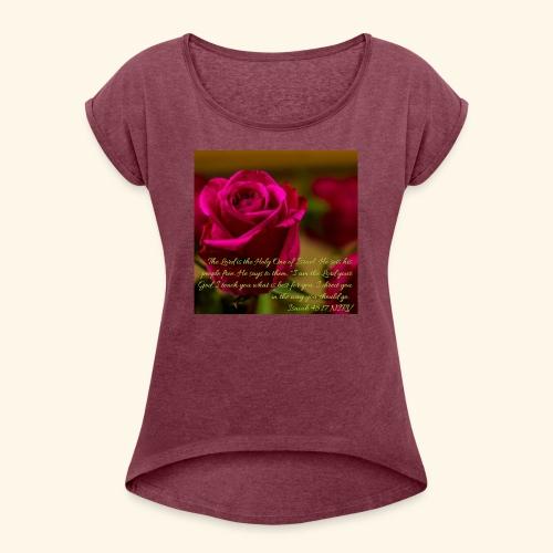love - Women's Roll Cuff T-Shirt