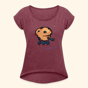 DBC BB CrudCakes - Women's Roll Cuff T-Shirt