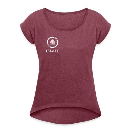ESTACEY - Women's Roll Cuff T-Shirt