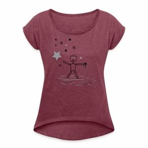 CHASiN STARZ - Women's Roll Cuff T-Shirt