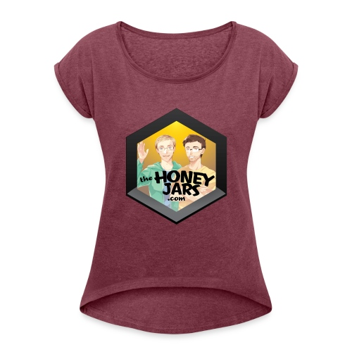 The Honey Jars - Women's Roll Cuff T-Shirt