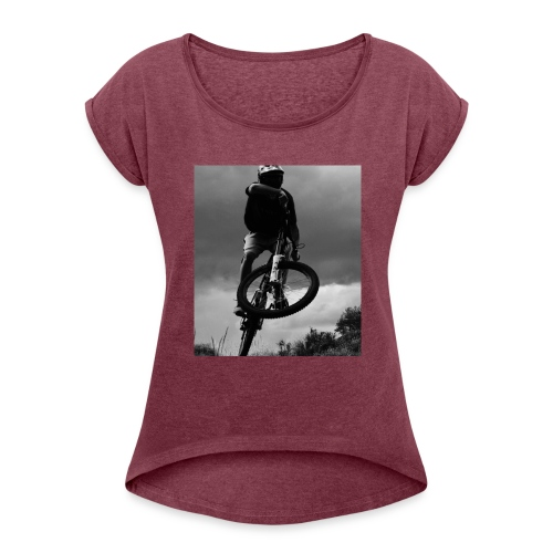 DOWNHILL. - Women's Roll Cuff T-Shirt
