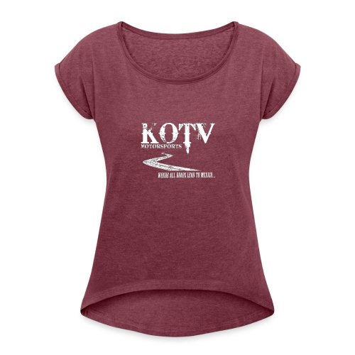 mexicologo - Women's Roll Cuff T-Shirt