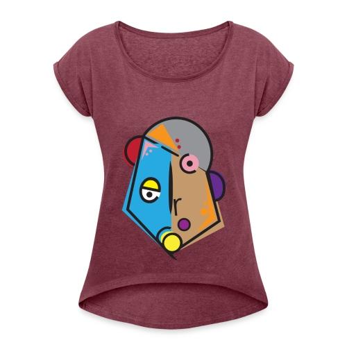 Preston - Women's Roll Cuff T-Shirt
