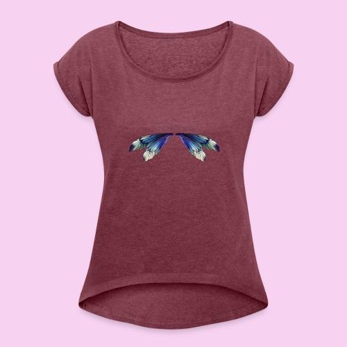 Littlest Faerie - Women's Roll Cuff T-Shirt