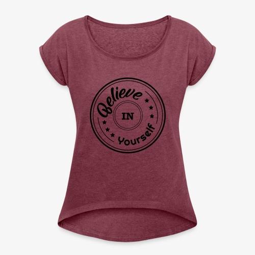 biy - Women's Roll Cuff T-Shirt