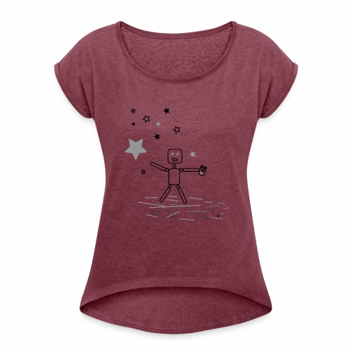 CHASiN STARZ - Women's Roll Cuff T-Shirt