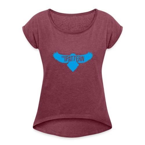 KYPbird OG logo - Women's Roll Cuff T-Shirt