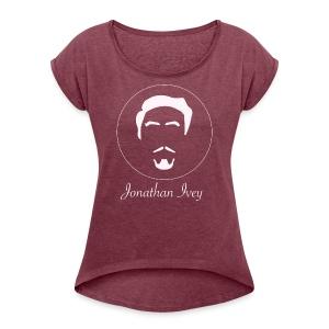 Pink Girl Jonathan Ivey clothing - Women's Roll Cuff T-Shirt