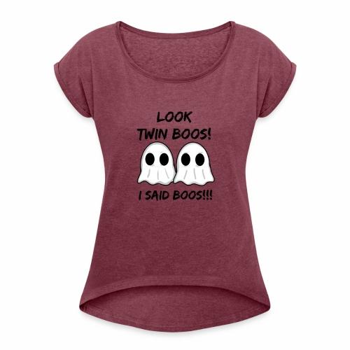 Twin Boos - Women's Roll Cuff T-Shirt