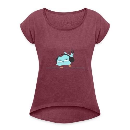 coolBird - Women's Roll Cuff T-Shirt