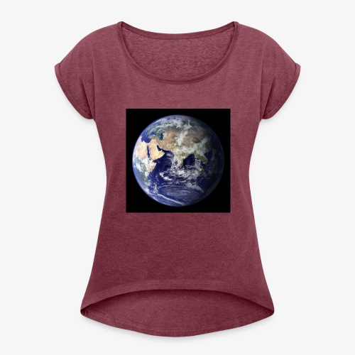 C7E0AE4E AB30 4B81 B4AC E3F2A2680574 - Women's Roll Cuff T-Shirt