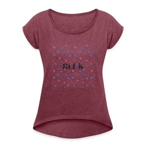 BLCK - Women's Roll Cuff T-Shirt