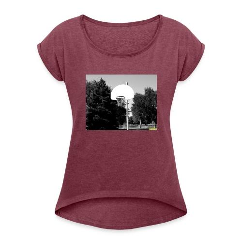 Ballin - Women's Roll Cuff T-Shirt
