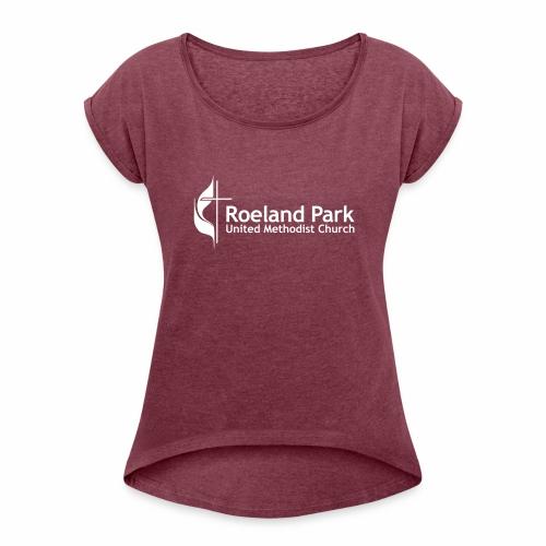 RPUMC Logo - Women's Roll Cuff T-Shirt