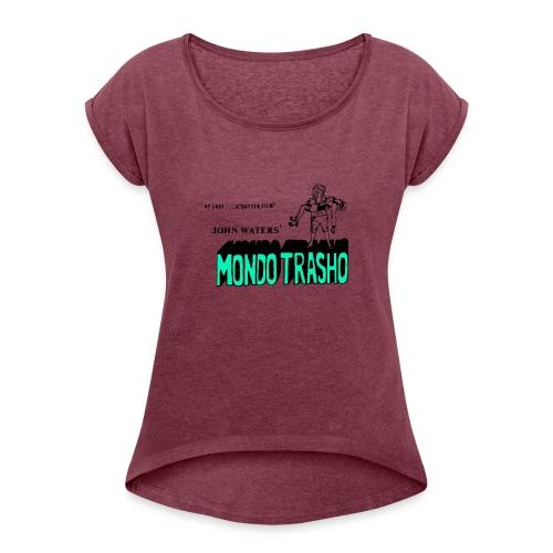 A Gutter Film - Women's Roll Cuff T-Shirt