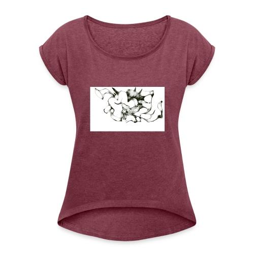 flowertrapt - Women's Roll Cuff T-Shirt