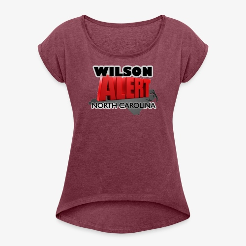 Wilson Alert Original Logo - Women's Roll Cuff T-Shirt