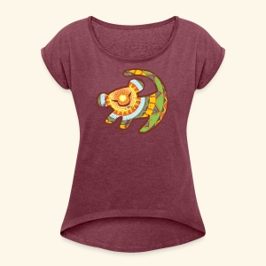 It is time - Women's Roll Cuff T-Shirt
