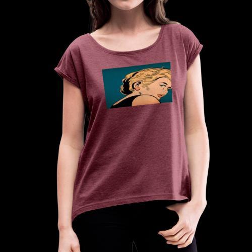 OH MY! - Women's Roll Cuff T-Shirt