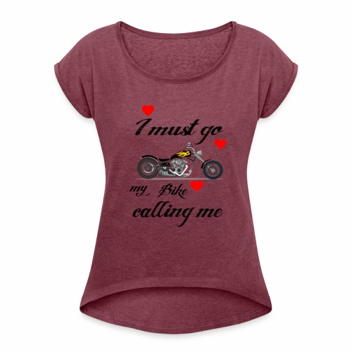 bullet - Women's Roll Cuff T-Shirt